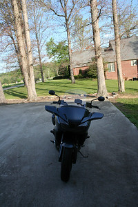 2014 CTX1300 with tall Honda shield and Triumph mirrors.