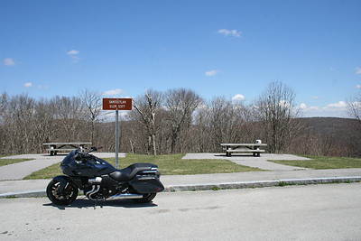 2014 Honda CTX1300 at the Santtelah Overlook on the the Cherohala Skyway. North Carolina
