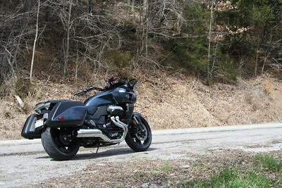 2014 Honda CTX1300 Deluxe near Center Hill Dam in Tennessee