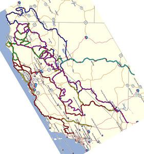 California Ride Summaries