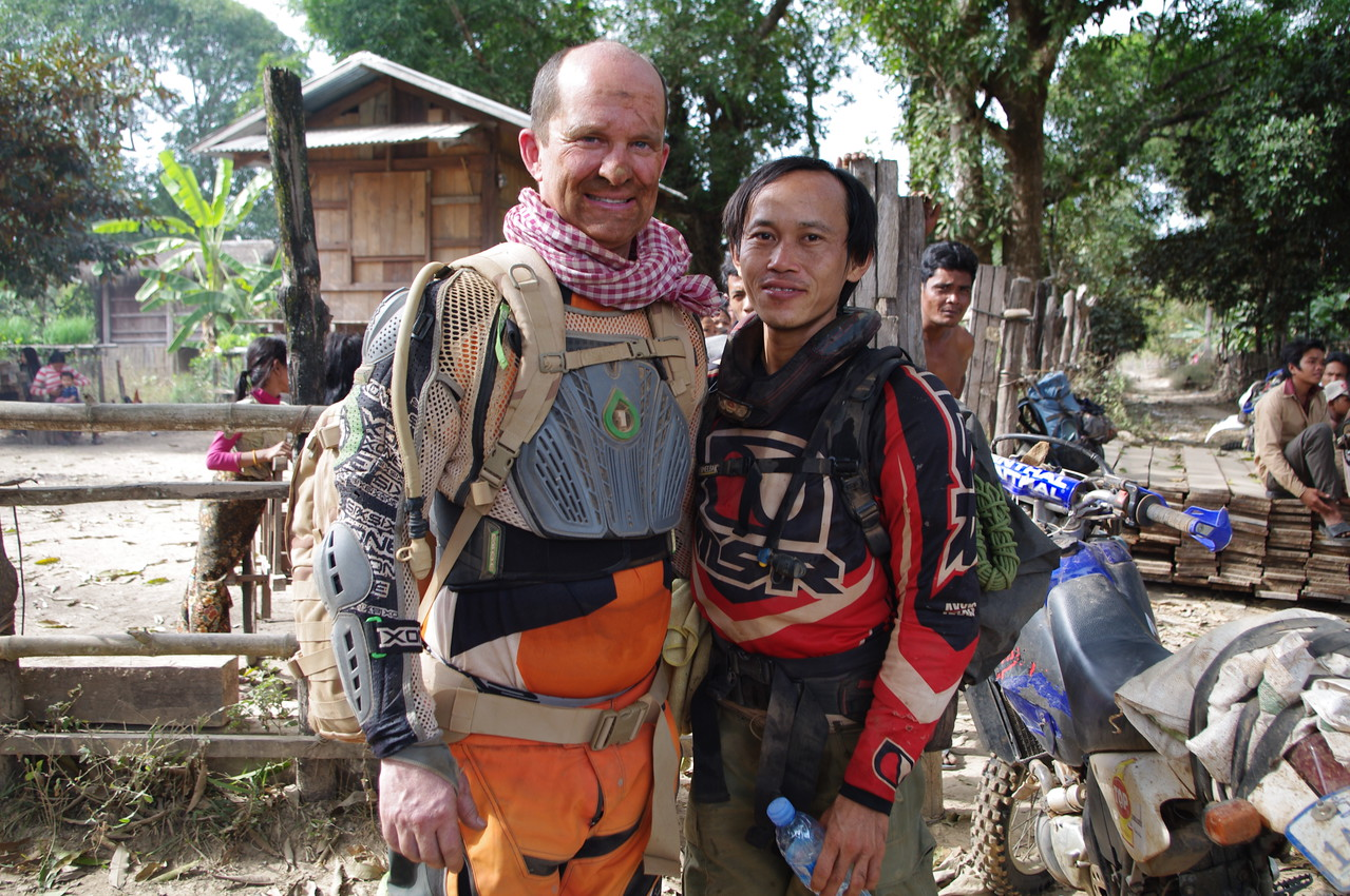 Our Khmer guide's nickname is Kung Foo Panda.