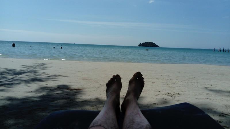 Steve's feet