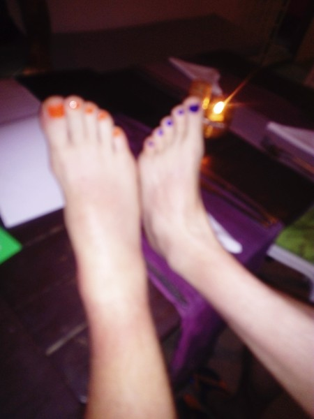 Lady Boys feet