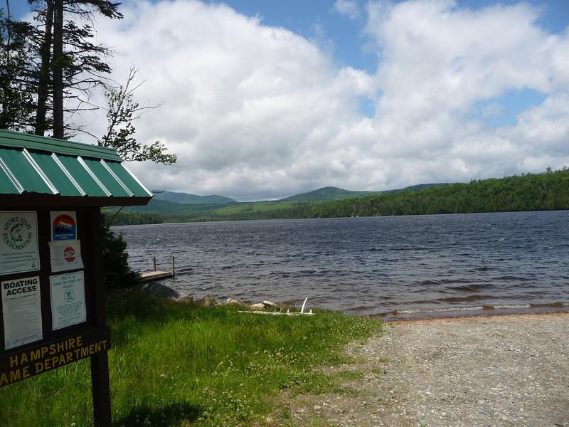 Millsfield Pond just south of errol