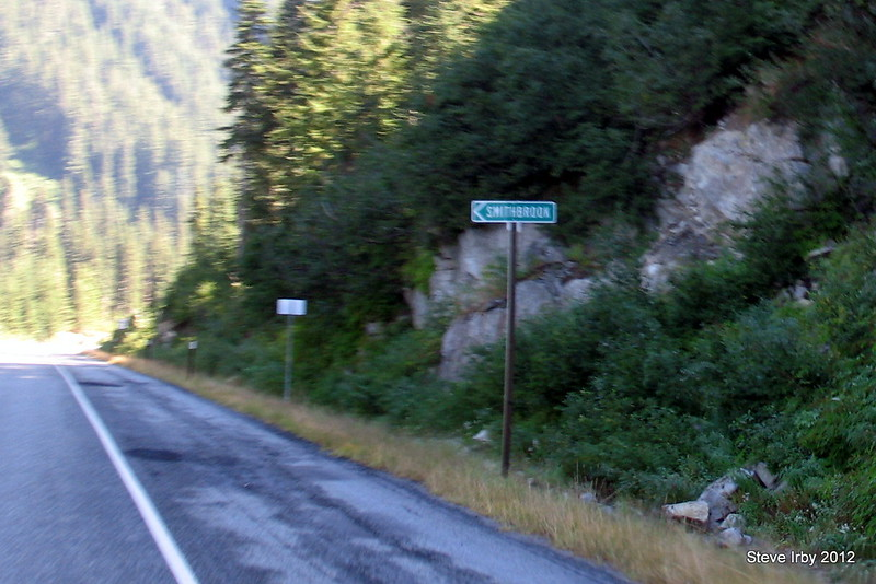 Smithbrook Road is the gravel route down to the Lake Wenatchee area.