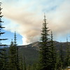 on Sept. 8th there were about nineteen new lightening started fires spawned in the Cascade range .  We managed to avoid most of it.