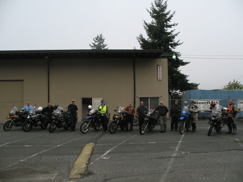 Nate, Scott, Jason, Steve, David, Kevin, Larry, Mike, Jim and Dave all ready to go.