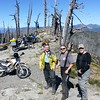 At Sugarloaf Lookout:  Nate Picht, David Petersen and Larry Henderson