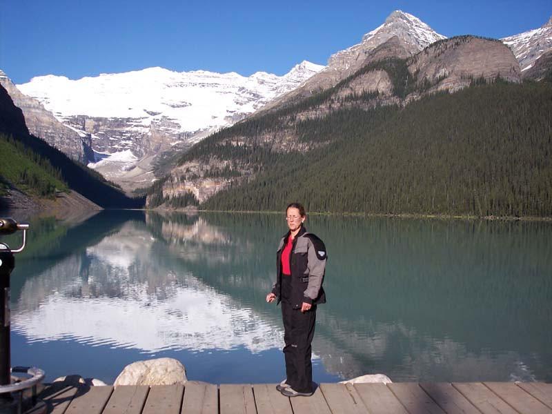 Lac Louise, CANADA