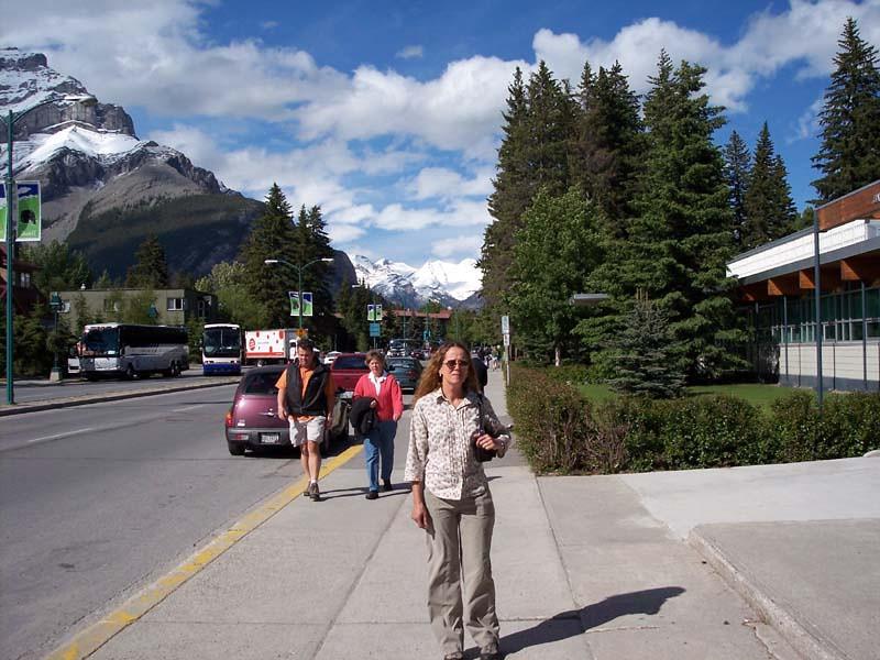 Downtown Banff, Canada