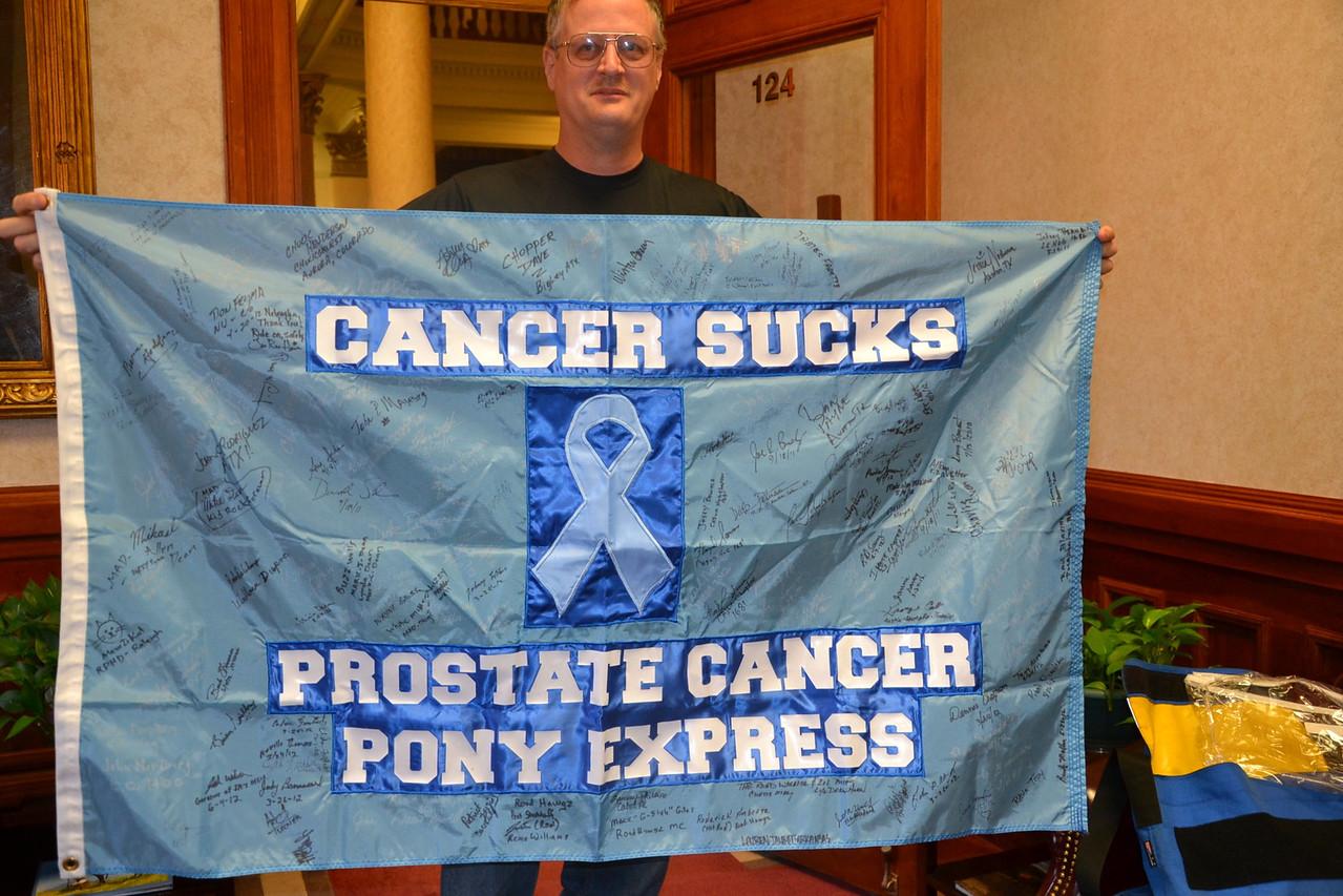 cancer sucks flag