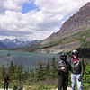 Jeanne & Dale Pugh at St Mary Lake, Glacier Park, MT