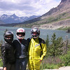 Mimi, Terrie, & John at St Mary Lake, Glacier Park, MT