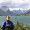 Marcus at St Mary Lake, Glacier Park, MT
