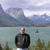 Ned Percival at St Mary Lake, Glacier Park, MT