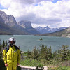 John at St Mary Lake, Glacier Park, MT