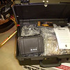 """We ordered the Pelican 1120 """"Tool Box""""  which mounts to the inside of the left bag. BTW, bags and mounts took less than a week to arrive. Great service!"""