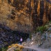 canyon walls reaching up to 1,500 feet