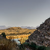 Another view from the mouth of  Santa  Elena Canyon looking towards Sotol Vista look-out.