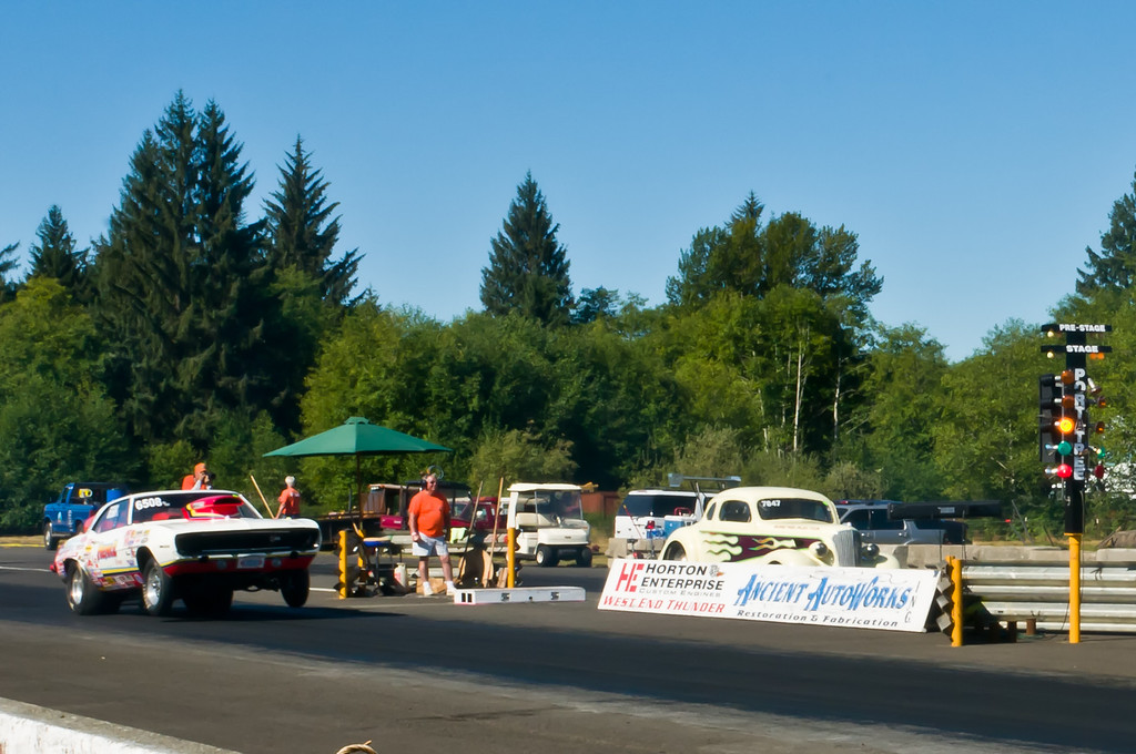 Drag Racing at Forks
