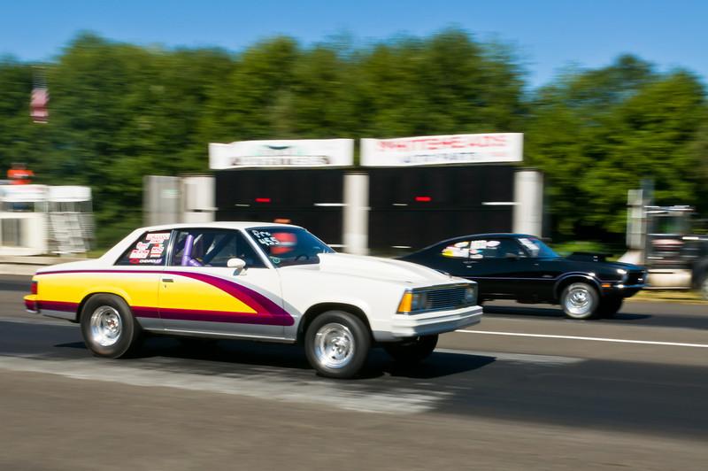 Drag Racing at Forks