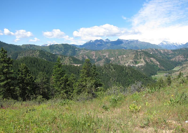 The view from Orella Ridge