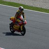 Espargaro, was on pole, 2nd in the race, the local crowd was happy