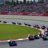125 race, 1st lap