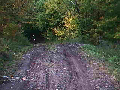 side trail view at end