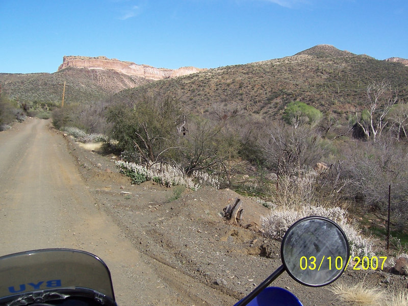 You can see the start of Arivaipa Canyon in the distance. It is said to be a miniature version of the Grand Canyon. I need to go there on a backpacking trip before I am too old.
