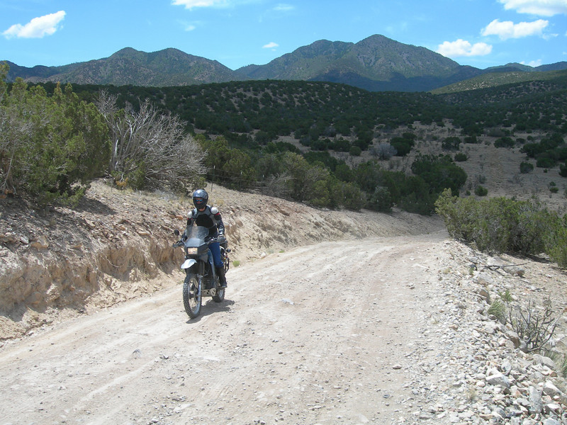 ...Okay, so I'm exaggerating a bit here. The fact is I'm reasonably competent on these roads and others that were a lot worse. Ruts, big rocks, steep slopes...I did get stuck once but never got off. I really enjoyed the ride and hope I get the chance to keep working on my skills.