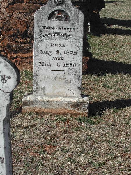An old graveyard in Mason county