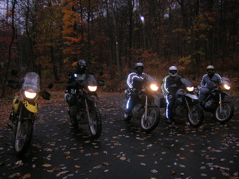 Rain, snow, sleet.....nothing like a November ride