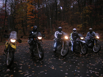 Rain, snow, sleet.....nothing like a November ride