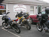CaptainF650, Fauster & smf meet for breakfast