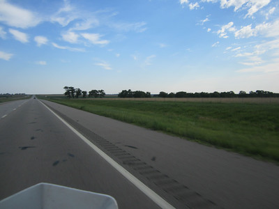 Day 7 Salina, KS to Clear Lake, IA