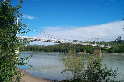 Lower Liard River bridge