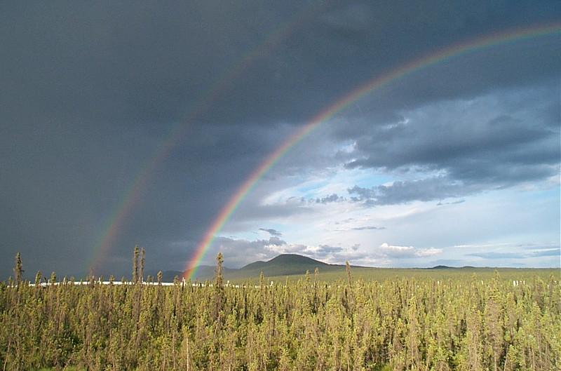 Double rainbow (part 1)