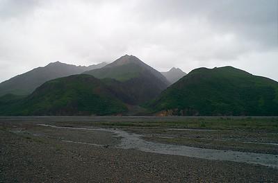 Toklat River bed