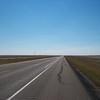 Straight flat road
