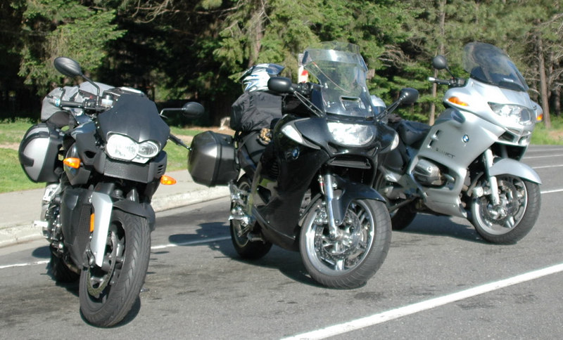 Gary's K12R, Tracy's K12 & Mikes RT