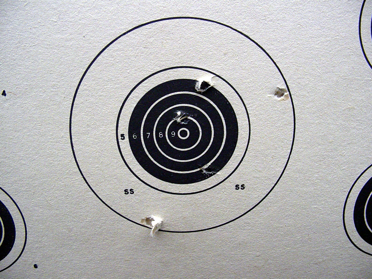 "<font size=""+1"">And the results of this astonishing shooting style.... </font>"