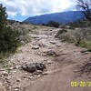 Typical Rocky Trail into Chiva Falls