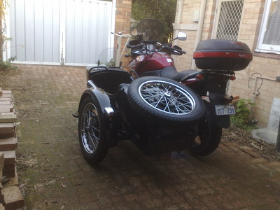 sidecar 4u CJ750 selling