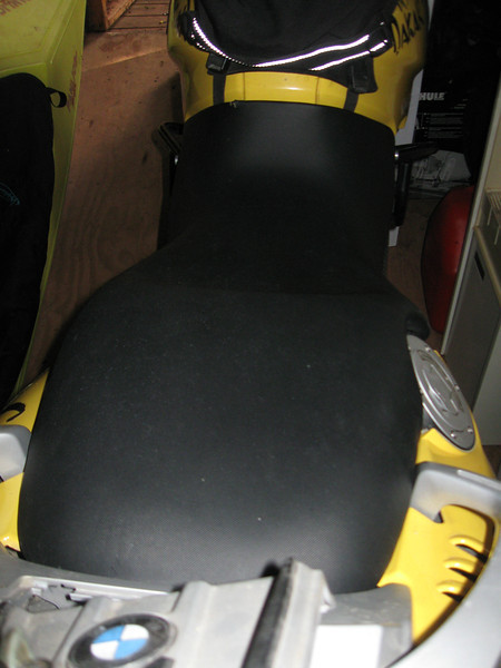 Spare seat installed on my '05 GS