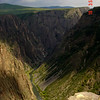 Black Canyon of the Gunnison, near Gunnison of course