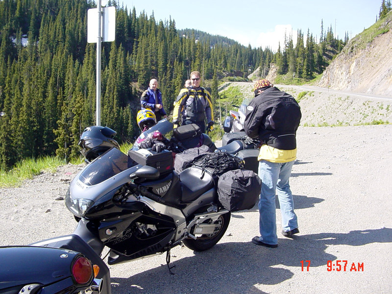 Somewhere near Ouray on day 1