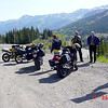 Scenic overlook on the 'Million Dollar Highway'
