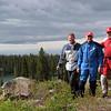 From the left, Craig Rodgers, Glenn Sparkman, Tom Thompson  ... (photo stolen)