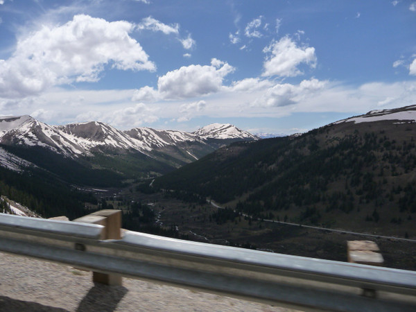 Climb to Independence Pass, more than 14000 ft